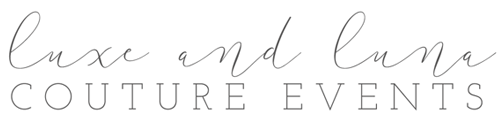 Luxe & Luna Couture Events logo